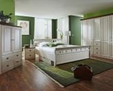 Jitona Ole postel 200 x 210 cm včetně matrací a roštů