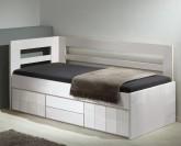 Gazel Hanny II. vysoká postel - BÍLÁ