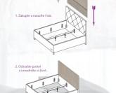 Slumberland Frak chránič k čalouněným postelím