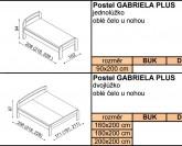 Jelínek Gabriela Plus postel