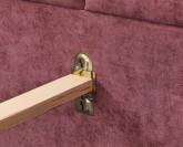 Slumberland Belfast Mistral čalouněná postel s úložným prostorem