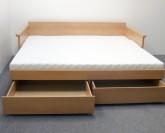 BMB Tandem Jora s područkami postel - BUK