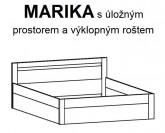 Postel MARIKA čelní výklop Ložnice BMB LINE