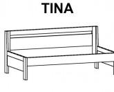 BMB Tina bez područek postel