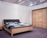 Jitona Keros šatní skříň, 5 dveří, s římsou a lezénami