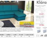 Lumco Klára systémová sedací souprava + Akce