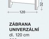 Gazel zábrana univerzální