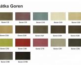 Irena matrace pro rozkládací postele - GOREN