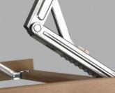 DPV Optima Double Flex lamelový polohovací rošt
