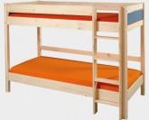 Etážová postel KEYLY NATIVE B0384 Gazel modrá