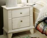 Noční stolek GEORGIA 4108 bílá/bílá Jitona