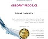 certifikát odborného prodejce Magniflex  - Nábytek PANDA Děčín