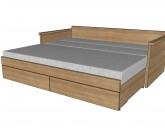 BMB Jora Tandem postel