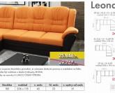 Lumco Leona systémová sedací souprava + Akce