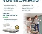 Magniflex Magnistretch 9 matrace + Akce Polštář Zdarma