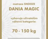 Snooze Dania Magic matrace VÝPRODEJ z výstavní plochy