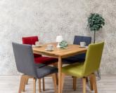 Natoor Riga stůl čtverec