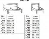 Postel KARLO Ložnice BMB LINE