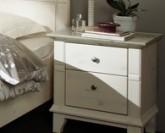 Noční stolek GEORGIA 4108 kombinace bílá a šedá Jitona