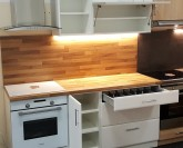 Optima Bílá kuchyň 180 cm VÝPRODEJ z výstavní plochy