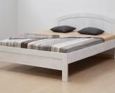 BMB Karlo Art lamino postel - BĚLENÉ DŘEVO