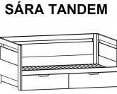 Postel rozkládací SÁRA TANDEM Ložnice BMB LINE
