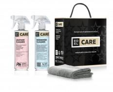 Edel Cleaning Kit 2 x 437 ml čištění textilních materiálů i kůží