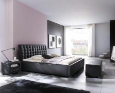 Antibes Comfort černá postel