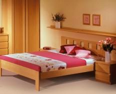 Jelínek Dalila postel čelo vysoké, čtvercové otvory + Akce