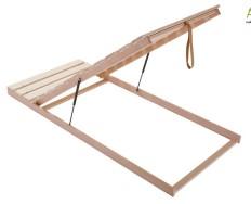 Rošt NOON® dřevěný výklop od nohou