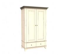 Jitona Georgia šatní skříň, 2 dveře, 2 zásuvky