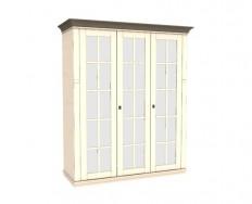 Jitona Georgia šatní skříň, 3 dveře, 3 zrcadla