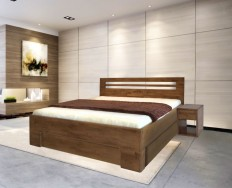 Nota Bene postel s úložným prostorem