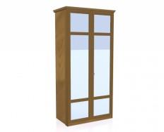 Jitona Piano šatní skříň, 2 dveře, 2 zrcadla