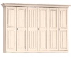 Jitona Malta šatní skříň, 6 dveří