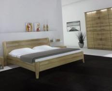 Jitona Keros postel dřevěné čelo + Akce