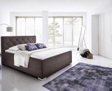 Bastia tmavě hnědá postel