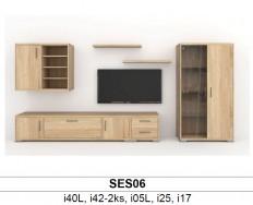 BMB Libreta SES06 obývací sestava