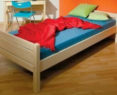 Gazel Roxy 90 přírodní postel + Akce