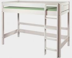 Gazel etážová postel Bella vysoká bílá + Akce