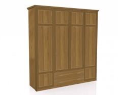 Jitona Piano šatní skříň, 4 dveře, 2 zásuvky