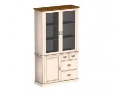 Jitona Country Inn vitrína, 2 dveře, komoda, 1 dveře, 4 zásuvky