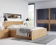 Jelínek Bruno dubová postel + Akce