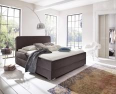 Bagnolet tmavě hnědá postel