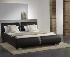 Beaune hnědá postel