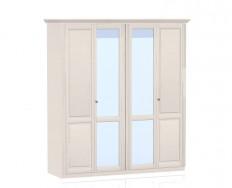 Jitona Ole šatní skříň, 4 dveře, 2 zrcadla