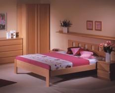 Jelínek Dalila cink postel čelo vysoké, čtvercové otvory