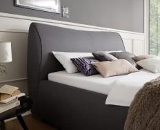 Aubagne šedá postel 180 x 200 cm
