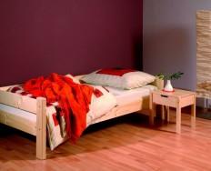Gazel Sendy 90 přírodní postel + Akce