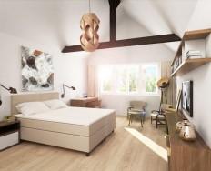 Tropico Continental Comfort Klasik postel